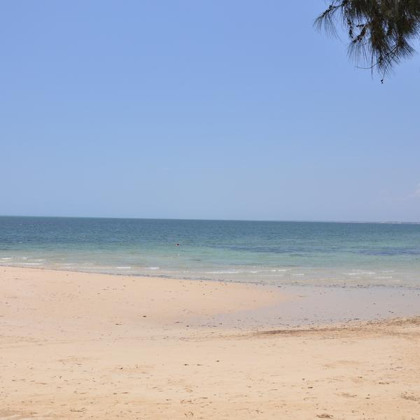 beachside village of Ifaty Madagascar