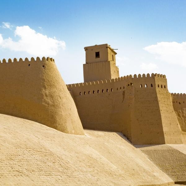 Les remparts de Khiva