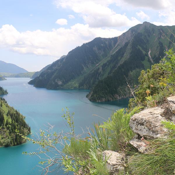 Le lac de Sary Chelek