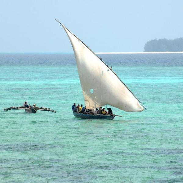 Barco típico de la Isla