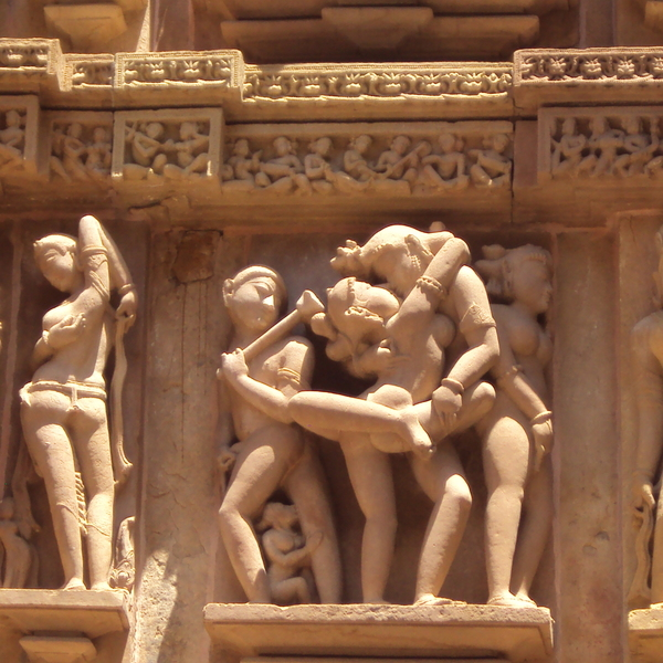 Khajuraho in India