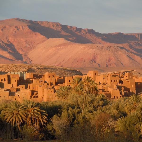 oasis et villages au Maroc
