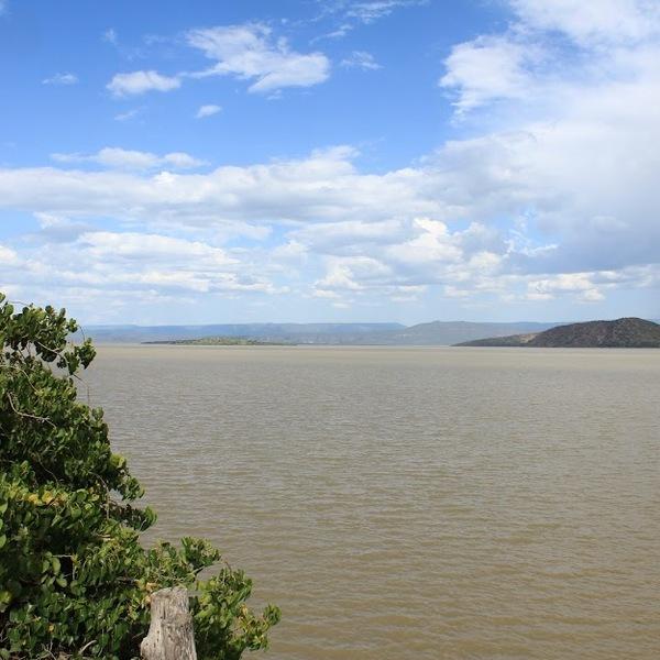 Vue du lac Baringo
