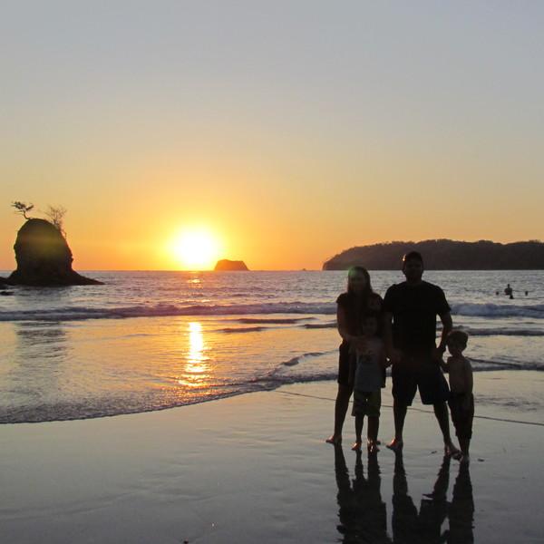 Pazifikküste Playa Carrillo