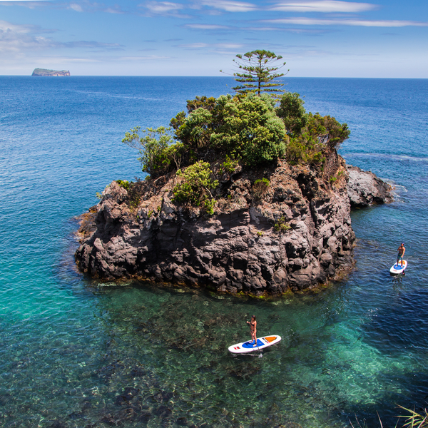 Water sports in the Azores
