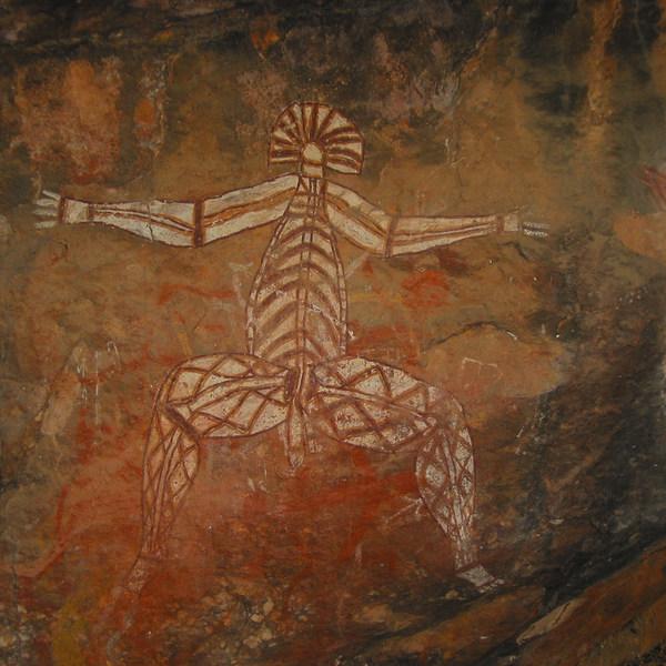 Fresque aborigène