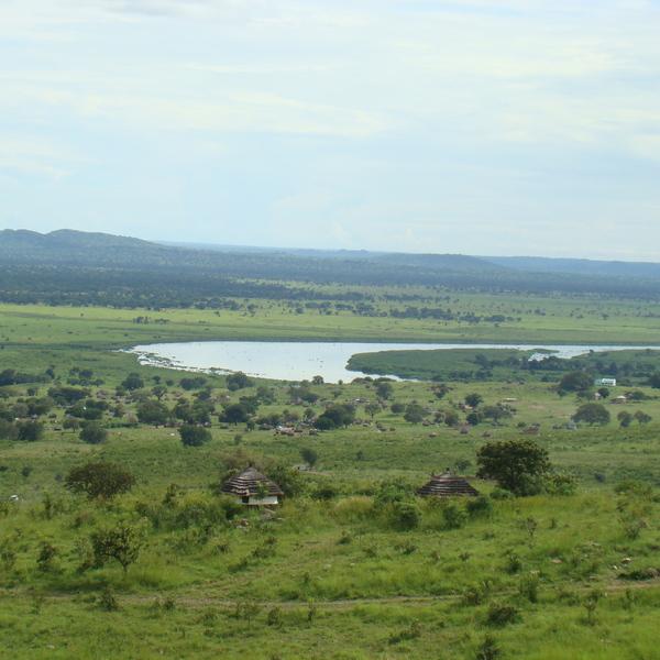 Landscapes in Uganda