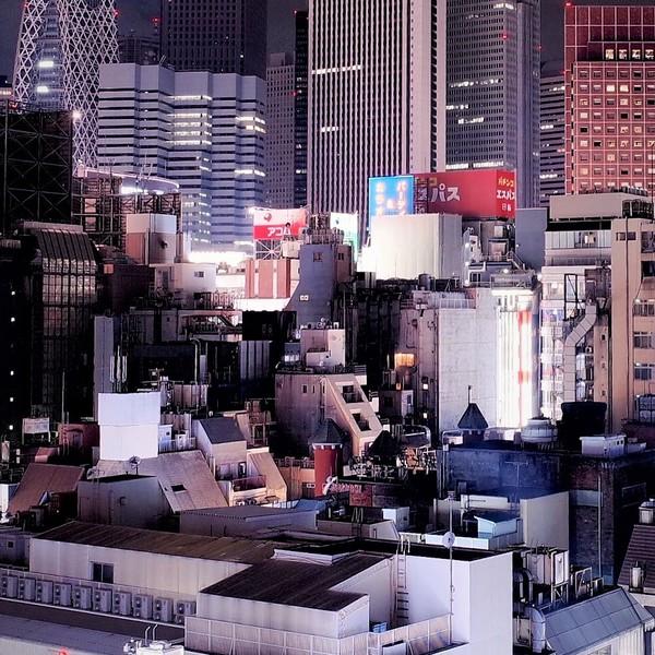 Skyline de Tokyo de nuit