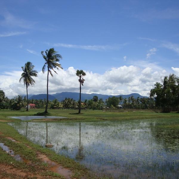 Das Bild zeigt Kampot.