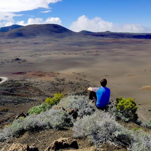 The volcano - Piton de la Fournaise