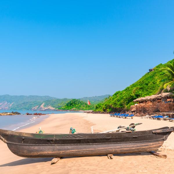 Das Bild zeigt die  Insel Goa.