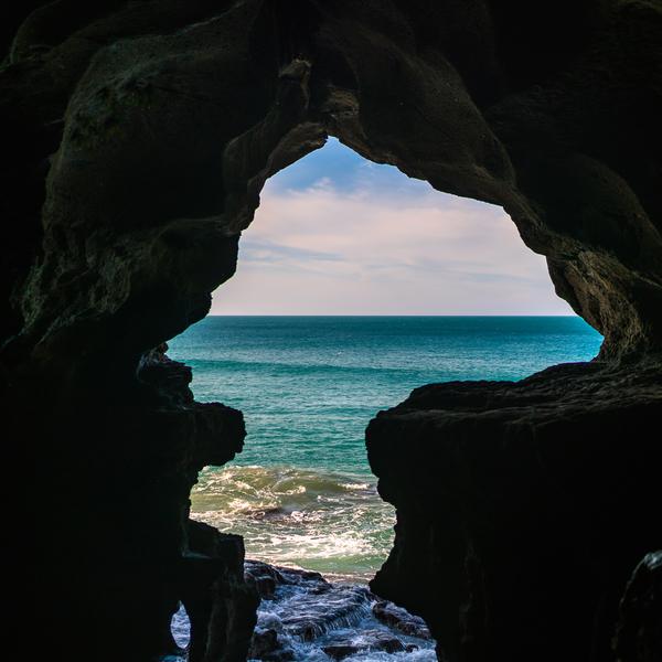 Das Bild zeigt eine Bucht Tanger.