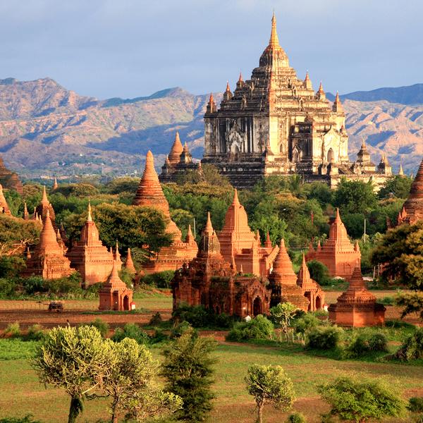 Das Bild zeigt einen wunderschönen Tempel.