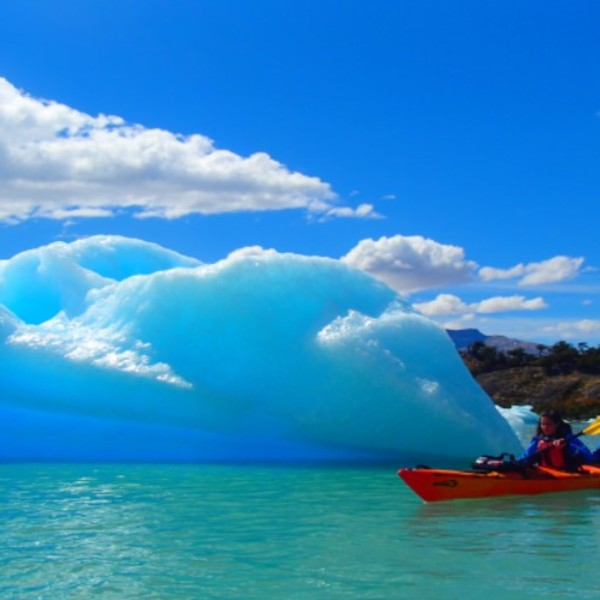 Kayak au glacier Upsala