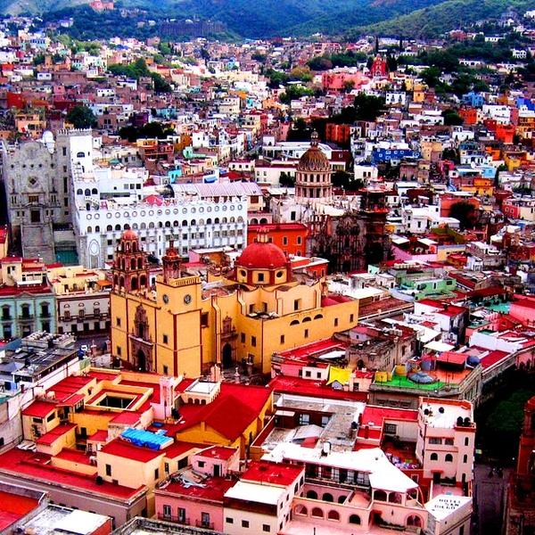 Guanajuato in Mexico