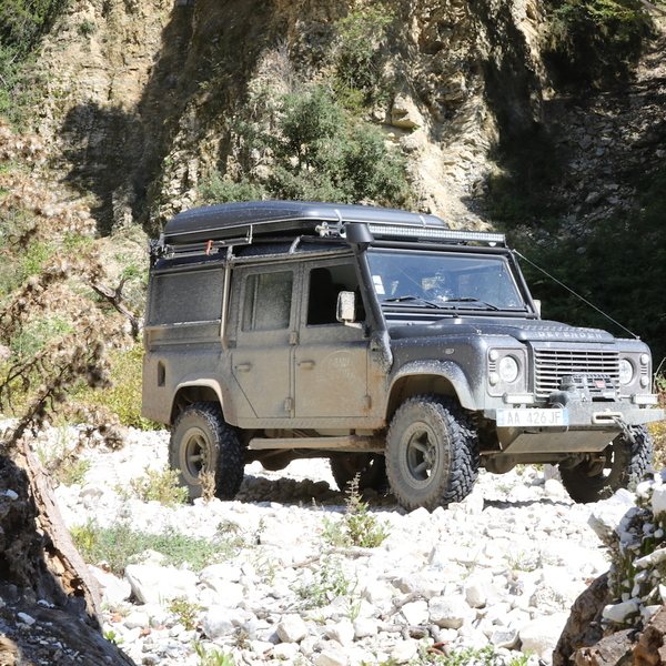 Off road in Albania