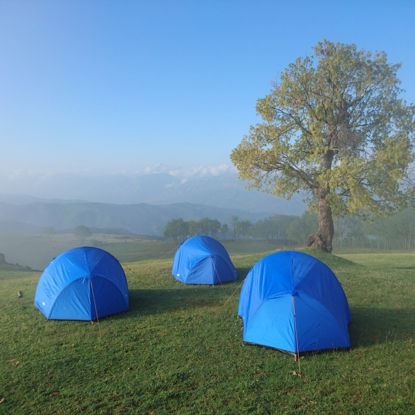 Camping in Albania