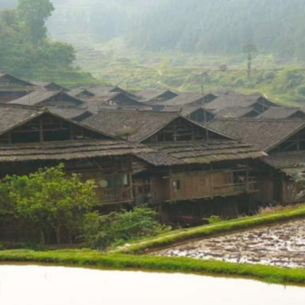 Maisons traditionnelles du Guangxi