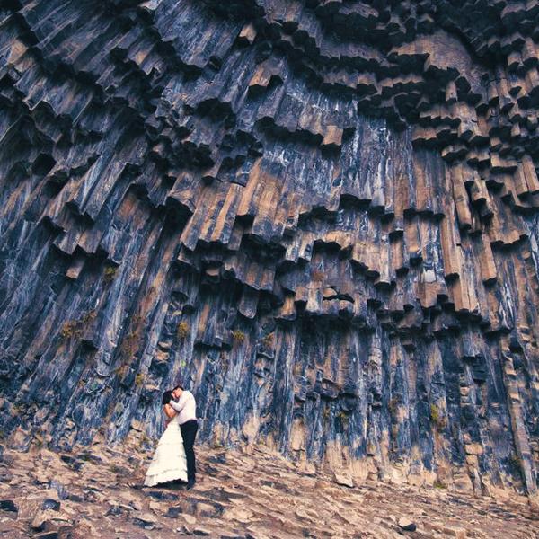Garni Gorge in Armenia