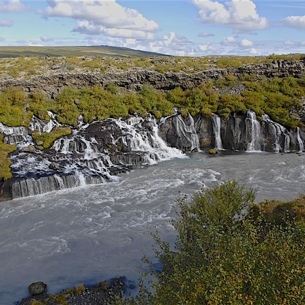 Hraunfossar in Iceland