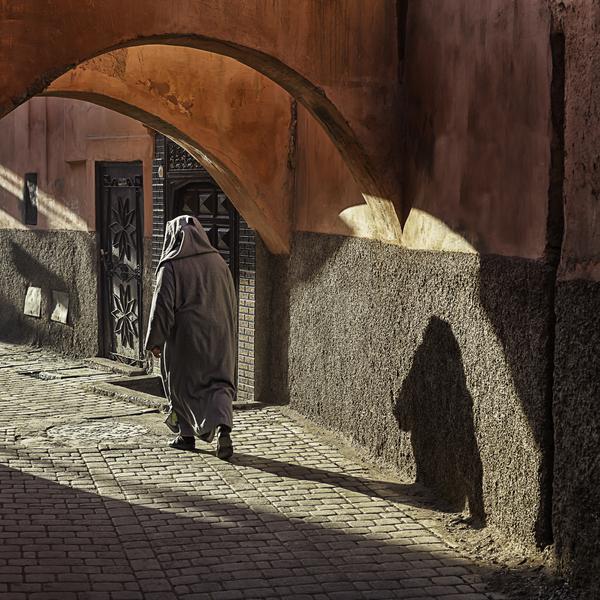 Walking inside the historical medinas found in Marrakech
