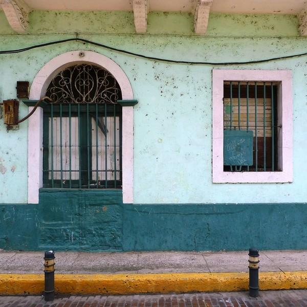 Façade d'une maison coloniale