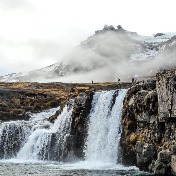 Das Bild zeigt Snæfellsnes.