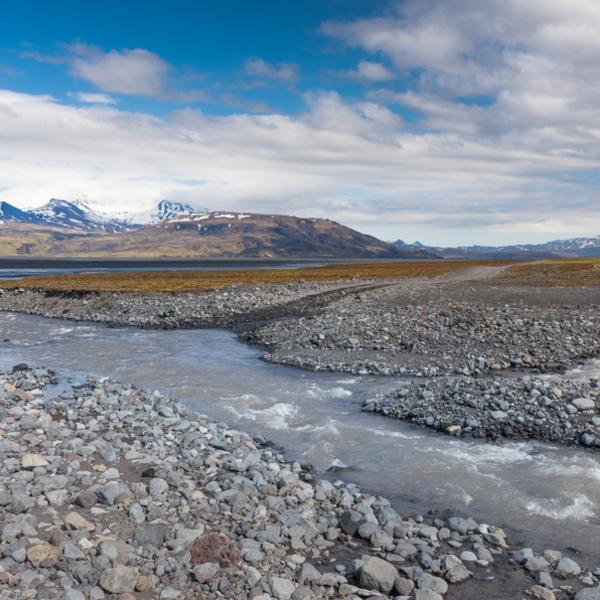 Das Bild zeigt Þórsmörk.