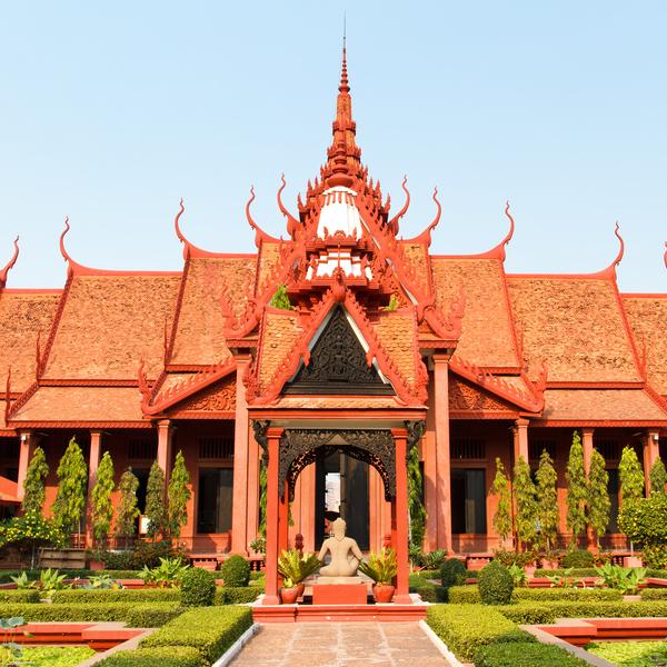Das Bild zeigt Phnom Penh.