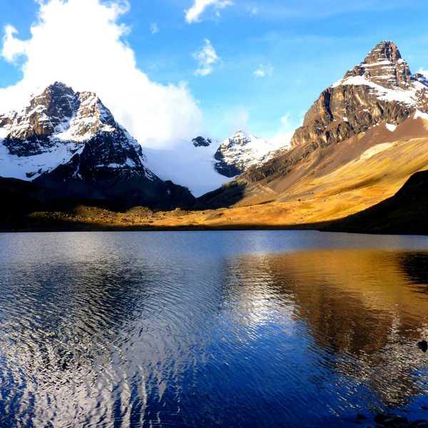The Condoriri in Bolivia