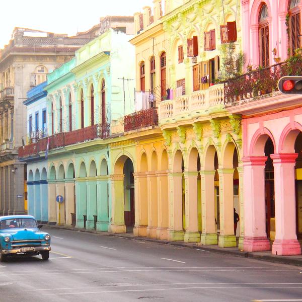 Havanna, eine der meistbesuchtesten Städte.