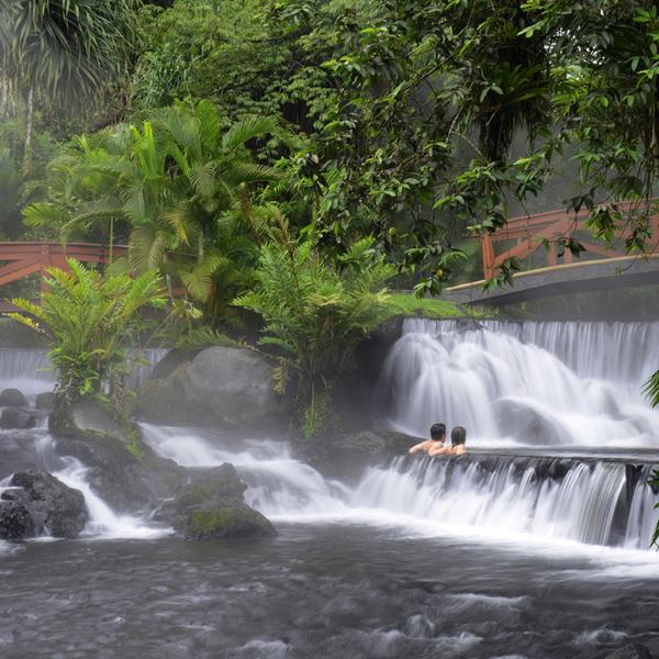 Hot springs Costa Rica volcano region