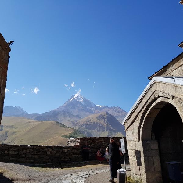 Mountain Kazbegi Georgia