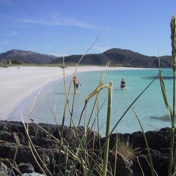 Norway beach summer