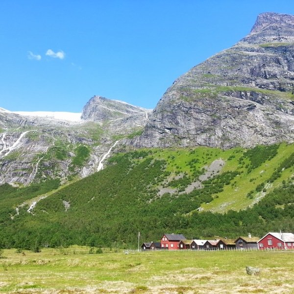 Farm Norway Green Hills