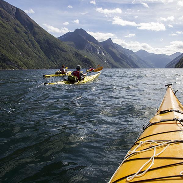 Kayak Norway Fjords
