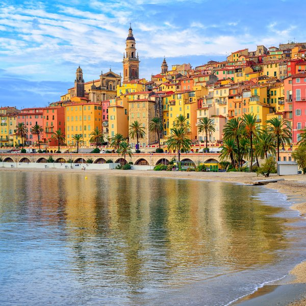 Soak up the sun and energy along the French Riviera! Relax, eat great food, and enjoy the moment.