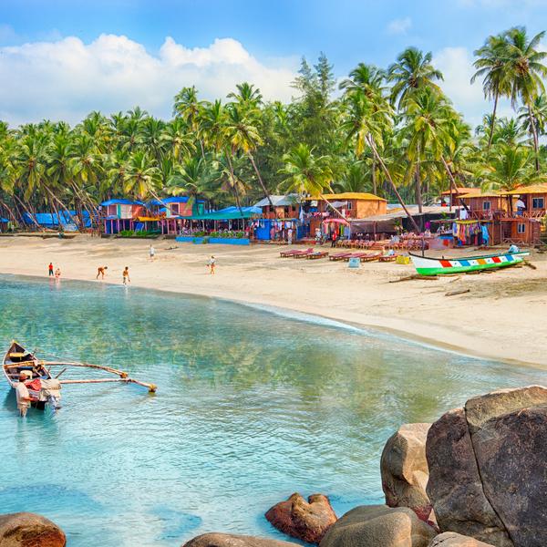 Beach in Goa India