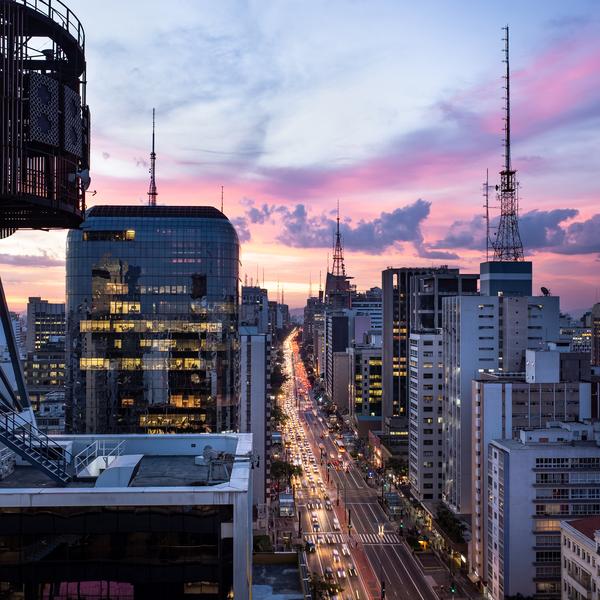 Das Bild zeigt Sao Paulo.