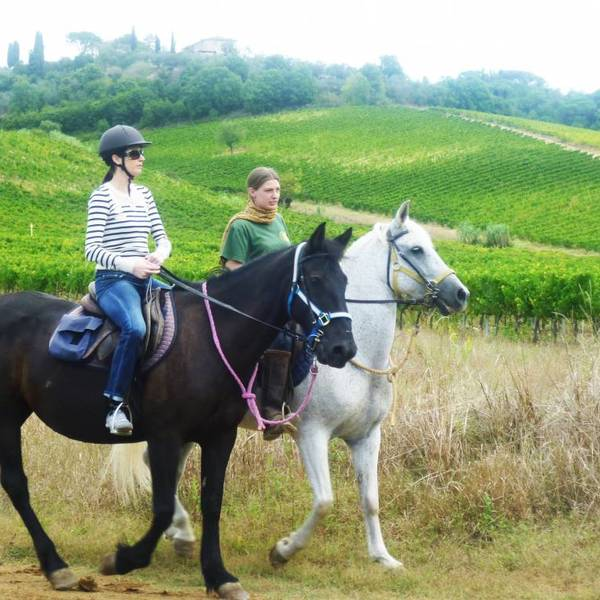 Tuscany horse ride Italy XP