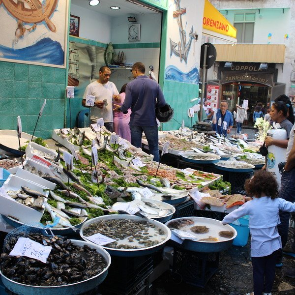 Sicily market place