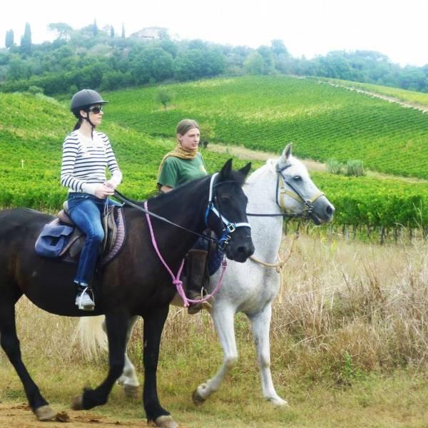 Tuscany horse ride Italy XP
