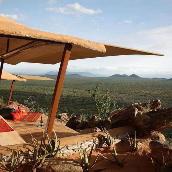The view of Samburu from Samburu Saruni Camp. It can make you cry