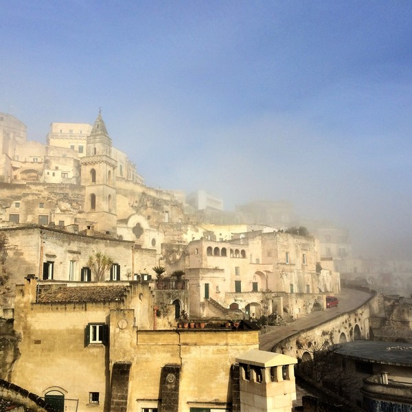 Sleep in the Sassi of Matera