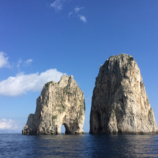 Full day boat trip to Capri Island from the Amalfi Coast. Soak up the sun and enjoy the activities!