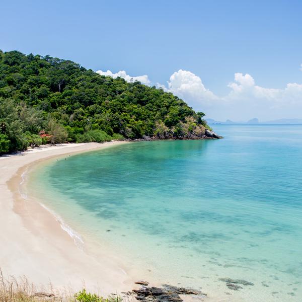 Das Bild zeigt einen Strand.