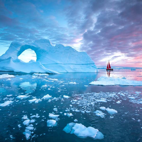 Disko Bay Glacier