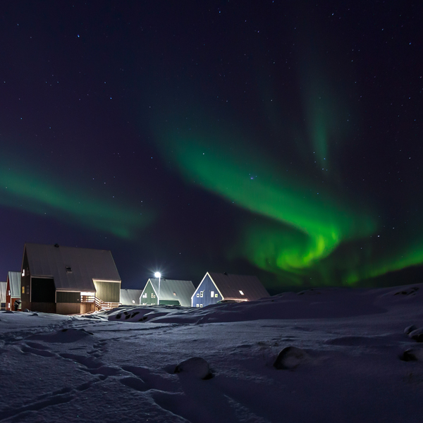 Northern Lights in Greenland