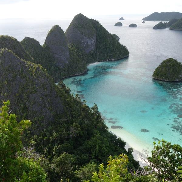 Les îles et plages des Raja Ampat