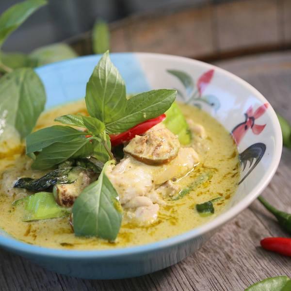 Das Bild zeigt eine thailändische Speise.